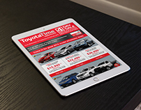 HTML EMAIL Design + Code: Toyota Hinterland (Australia)