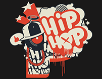 The *Official* Hip Hop Shirt Design for Pandora