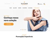 Outono Fashion - Estudo Landing page