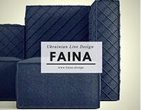 FAINA | Sofa FAKTURA