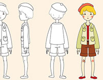 Special Summer Doll_Technical Drawing