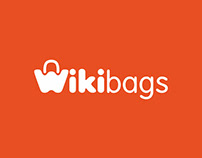2012 Дизайн логотипа для интернет-магазина Wikibags.ru