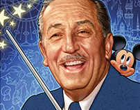 EDITORIAL ILLUSTRATION: WALT DISNEY