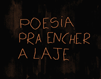 Poesia Para Encher a Laje | Motion Graphic