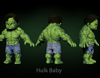 Hulk baby-personal project