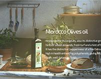 Moroccan Olives oil - Still life
