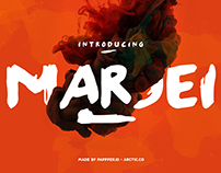 The Beautiful Marjei Display Font