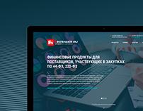 Fintender web design