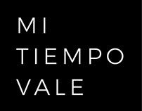 MI TIEMPO VALE - Diseño de interfaz