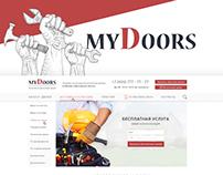 MyDoors - Website for door manufacturers