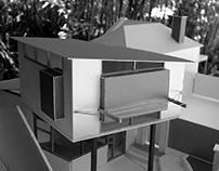 Architectural Model - Attfield St, Renovation Freo