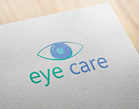 Eye Care logo design