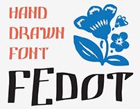 Fedot typeface