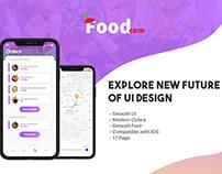 Foodcom IOS UI - Food App UI