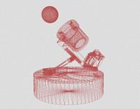 robot bière pong (gala de déconfinement)