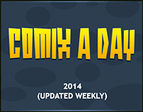 Comix a day 2014 (Updated Weekly)