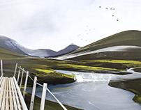 iceland | sketch