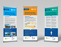 Shoreline Strategy roller banners: Southend BC