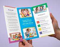 Brochure – Kindergarten Tri-Fold Template