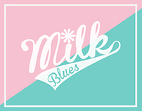Milk Blues - hangtag & Shopping bag