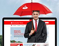 Santander Totta • Website