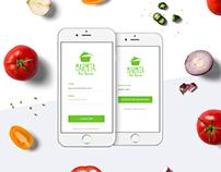 Marmita do Bem | Mobile app UI/UX