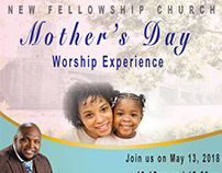 Mother's Day Worship Flyer