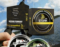 Logo and packaging design for fishing brand