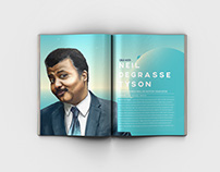 Neil deGrasse Tyson - Article Layout