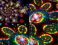 Color Сhristmas - VJ Loop Pack (4in1)
