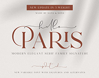 Hello Paris - Modern Elegant Font Duo
