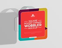 Free Wobbler Mockup