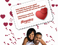 VALENTINE'S DAY FLYER ET POSTER POUR MAGESTRY FB