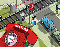 Network Rail - Interactive online scenes