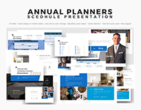 Anuual planners presentation slides 2018 - PowerPoint