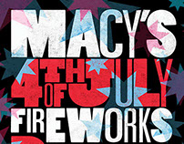 2015 Macy's Fireworks