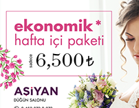 Billboard for Wedding Hall Campaign
