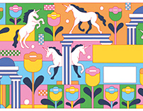 Spread for Atticus journal about culture in companies