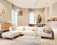 Soggiorno Moderno - Modern living room design-Milan