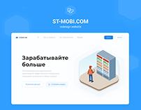ST-MOBI / redesign website