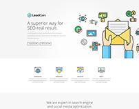 LeadGen - Multipurpose  Landing Page SEO Marketing