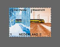 Postage stamps, PostNL