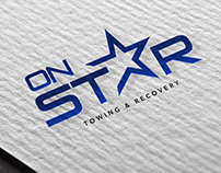 On star ( Logo design )