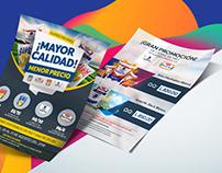 Diseño de Flyer promocional para uso interno
