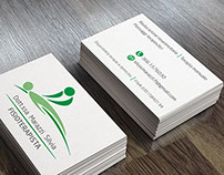 Business card e Flyer fisioterapia