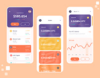 Multicurrency Coinbase Wallet Web & Mobile Application