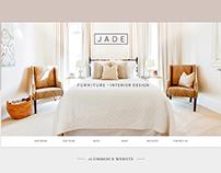 Jade Furniture and Interior Design Website
