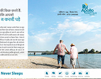 Apollo Hospital Indore Advt Campaign