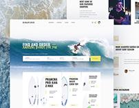 Surf store concept