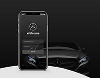 Mercedes-Benz | App Concept